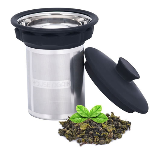 extra fine tea infuser for smooth filtration