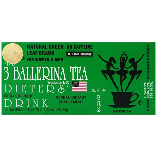 3 Ballerina Extra Strength Pack of 18