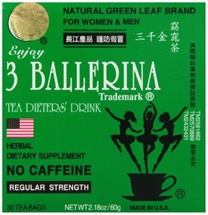 3 ballerina normal strength pack of 30